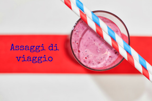 Smoothie ai frutti di bosco