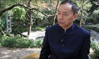 Chinese lawyer and crime fiction writer Prof He Jiahong