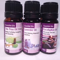Simply Supplements Essential Oils, Tea Tree, Lavender, Eucalyptus