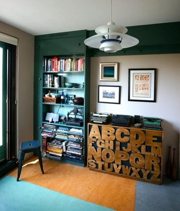 Máquina de escrever na decoração, decoração vintage e retrô