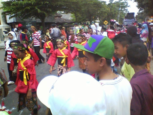 Foto SD Negeri Mulyoagung 1 Festival Karnaval SInggahan Tuban