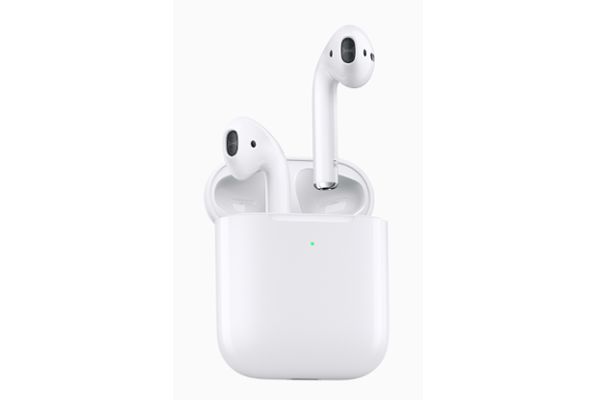 "APPLE unveils second generation AirPods with Wireless charging case, H1 Chip and Hands-free ""Hey Siri"" support"