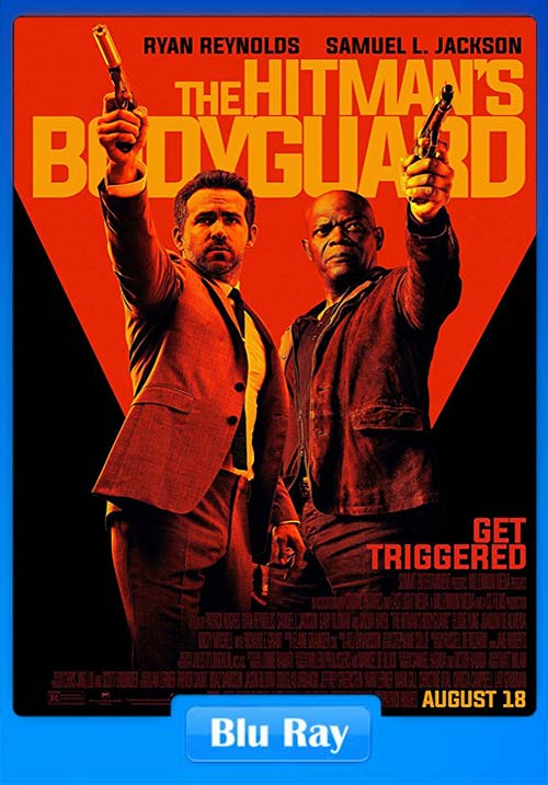 The Hitmans BodyGuard 2017 720p BluRay Hindi English x264 | 480p 300MB | 100MB HEVC Poster