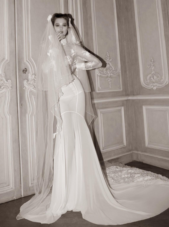 Hermosos Vestidos de novia elegantes Moda 2014 Vestidos Moda