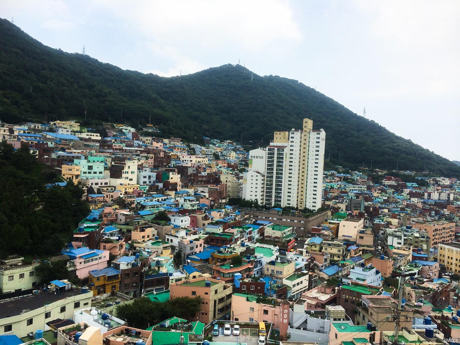 Seoul, Korea - Summer Study Abroad 2014 - Gamcheon Culture Village colorful homes