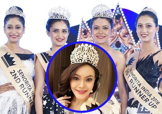 Rewati Chhetri Wins Senorita Miss International India 2016