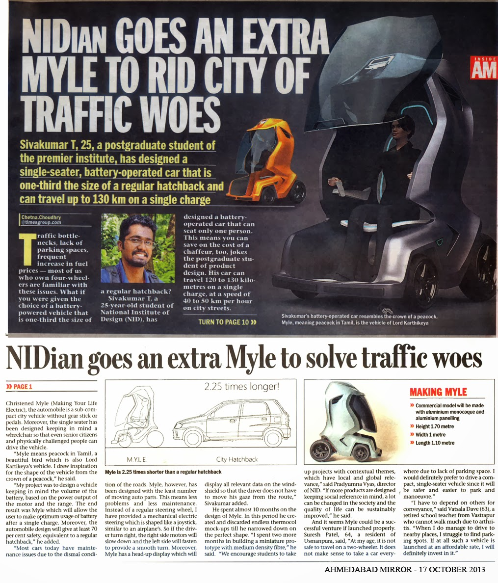 M Y L E  Personal Mobility for Urban India  | LAST PAGES