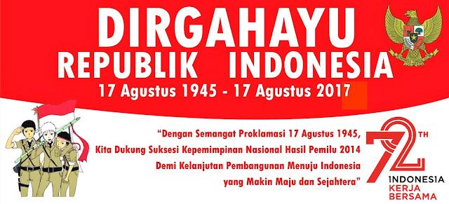Kumpulan Contoh Banner Hut Ri Ke Dirgahayu Republik Indonesia Agustus