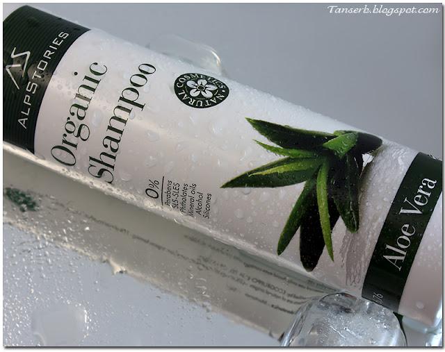 Органический шампунь AlpStories Organic Shampoo Aloe Vera
