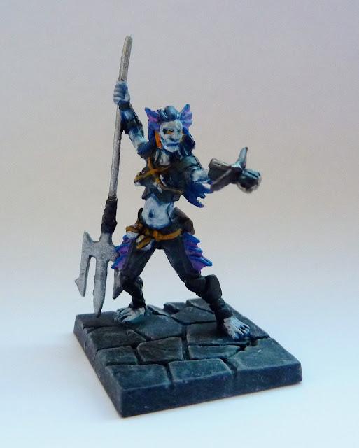Arianya, Naiad Demonhunter - Infernal Crypts expansion for Mantic's Dungeon Saga