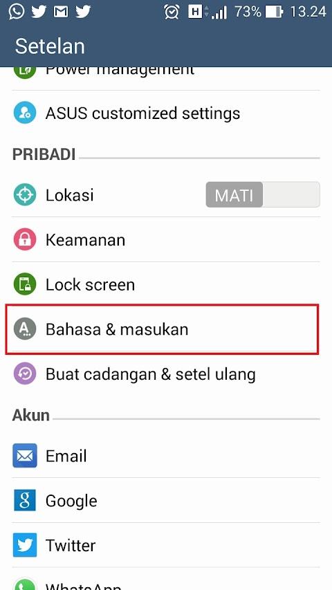 Cara Menonaktifkan Auto Correct Pada Keyboard Android