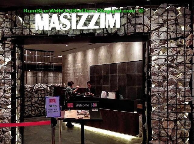 Masizzim Korean restaurant, Orchard Road, Singapore