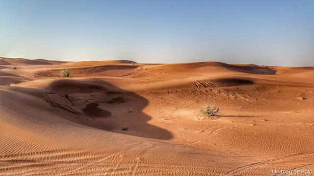 Desierto en Dubai