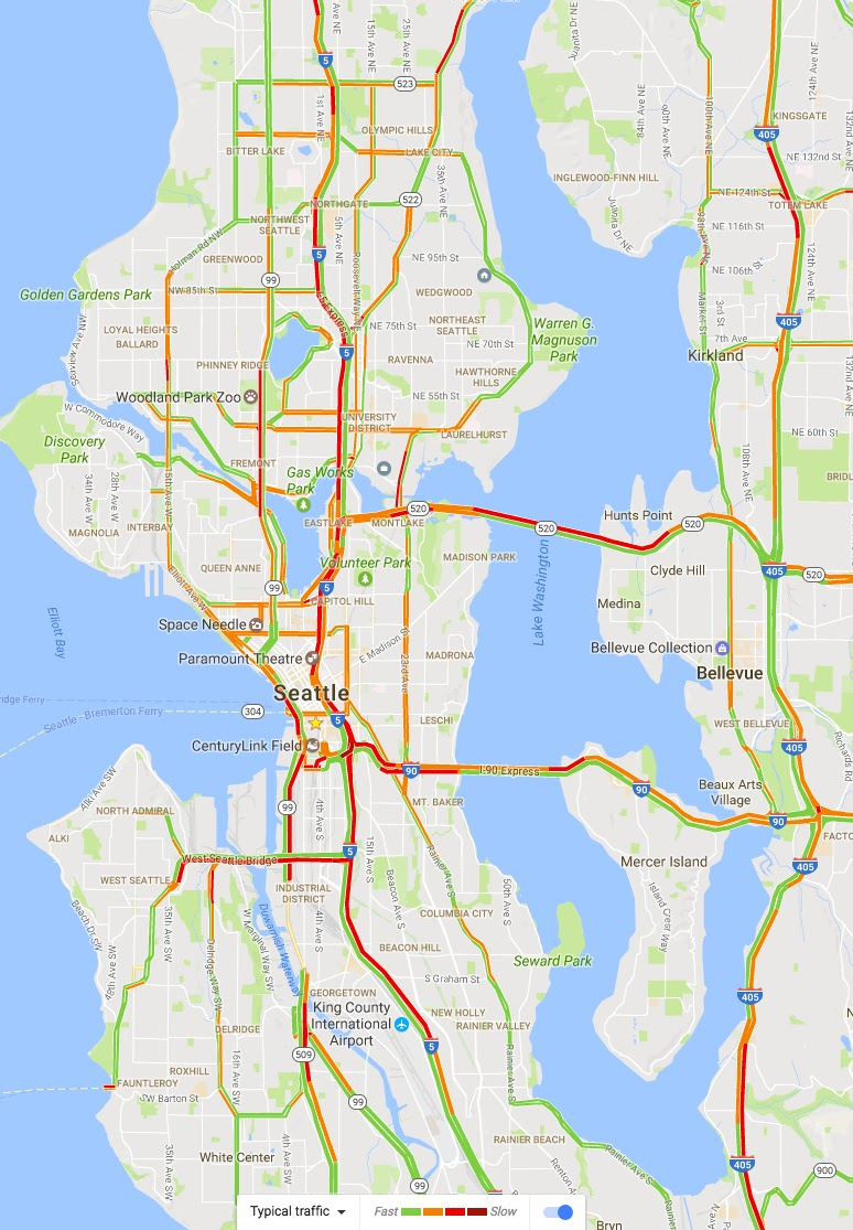 Cliff Mass Weather and Climate Blog Fixing Seattles Traffic Mess