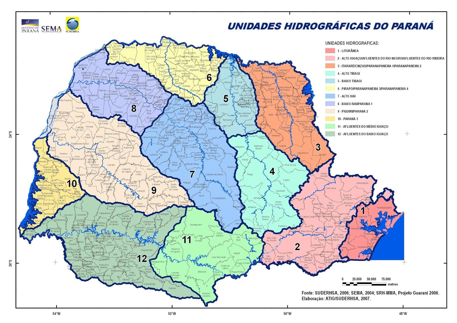 Mapas do Paraná
