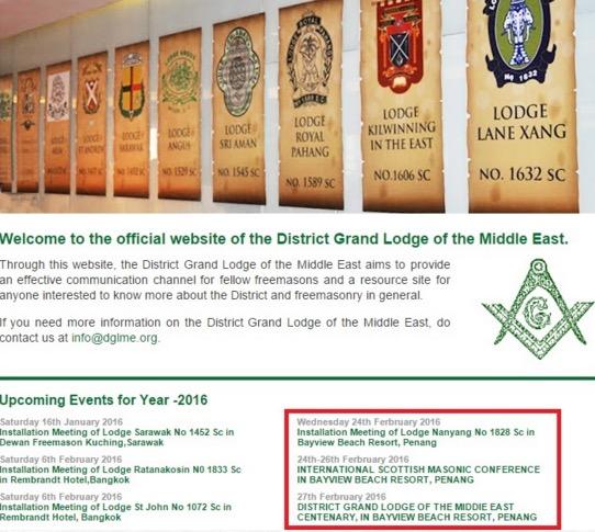 Bantah Persidangan Freemason Pulau Pinang