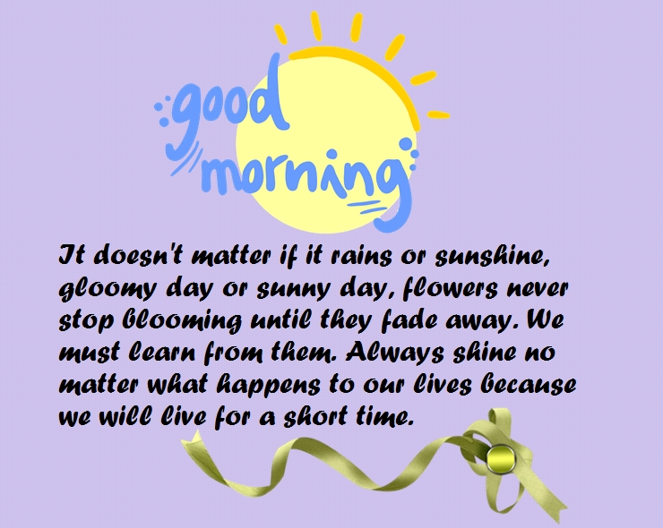 Good Morning One Word Or Two : Inspirational good morning quotes with images
