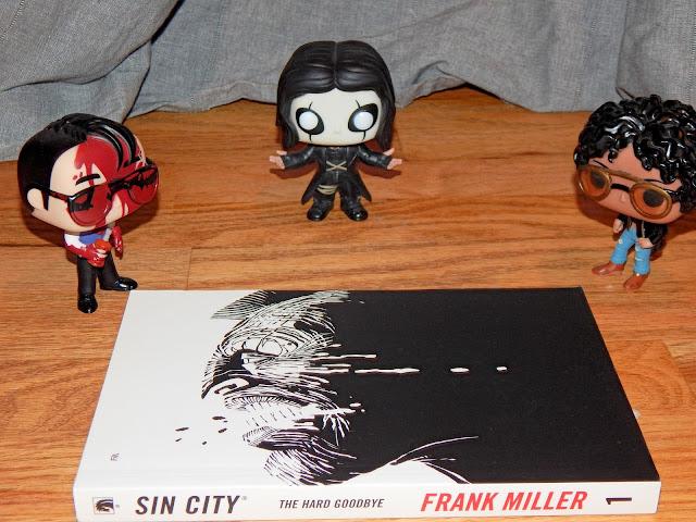 sin city frank miller graphic novel funko pops