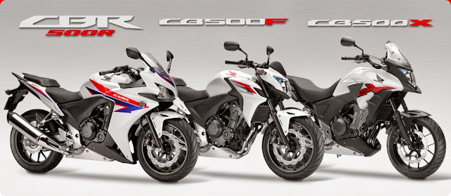 Honda CBR500R, CB500X, CB500F CBU 2014 - Langkah Berani Honda Malaysia