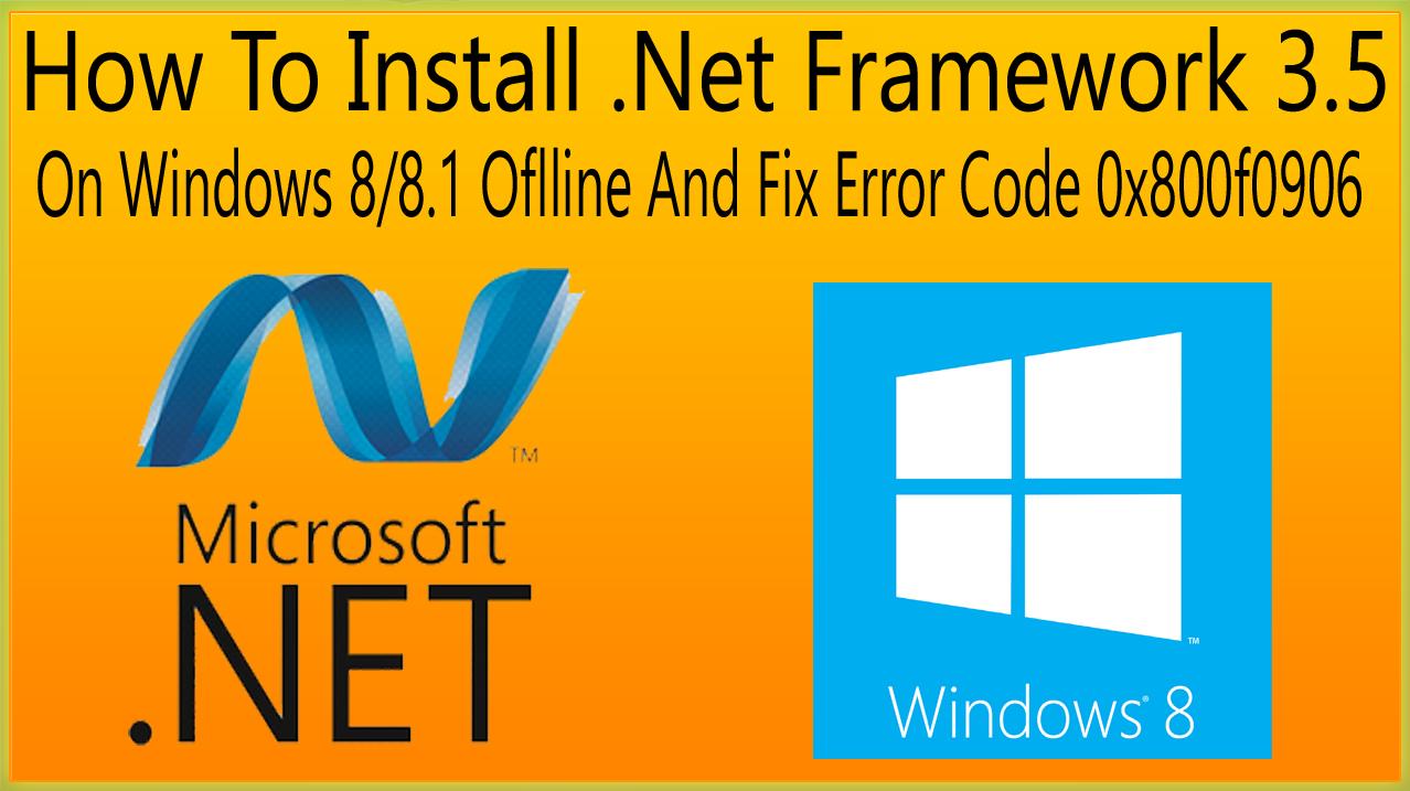 how to fix net framework error