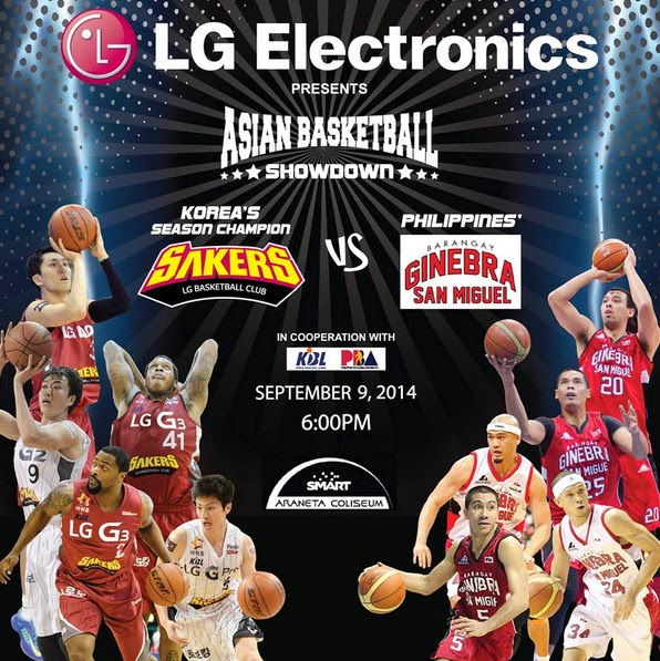 Asian Basketball Showdown, Barangay Ginebra, LG Sakers, Barangay Ginebra vs Korea
