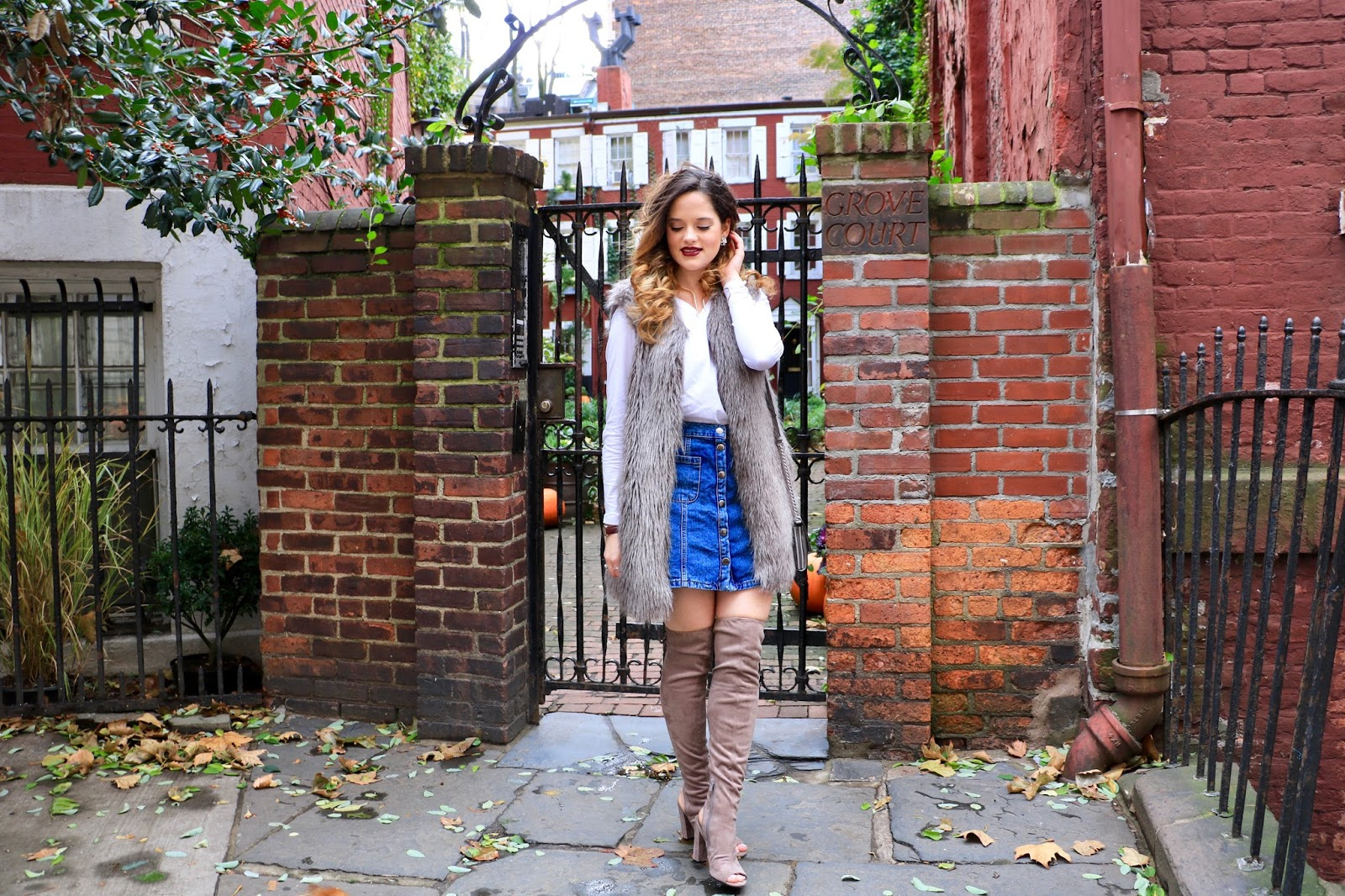 Nyc fashion blogger Kathleen Harper's holiday outfit ideas