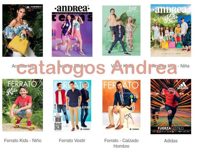Catálogos Andrea Primavera 2018 (NUEVOS )