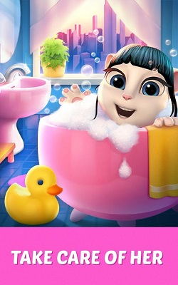 My Talking Angela Hack Mod Apk