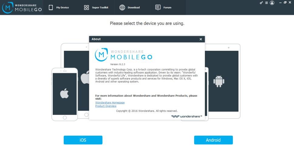 wondershare mobilego full 2018 apk