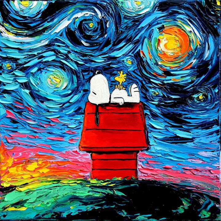 12-Woodstock-and-Snoopy-Aja-Trier-Vincent-Van-Gogh-Paintings-and-a-Sprinkle-of-Pop-Culture-www-designstack-co