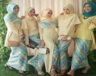 baju batik keluarga model baru
