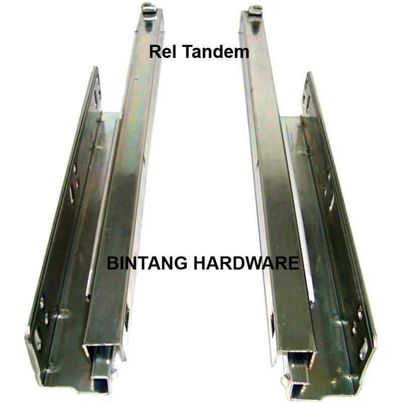 Rel Laci Tandem Undermount Concealed Runner Bintang Hardware