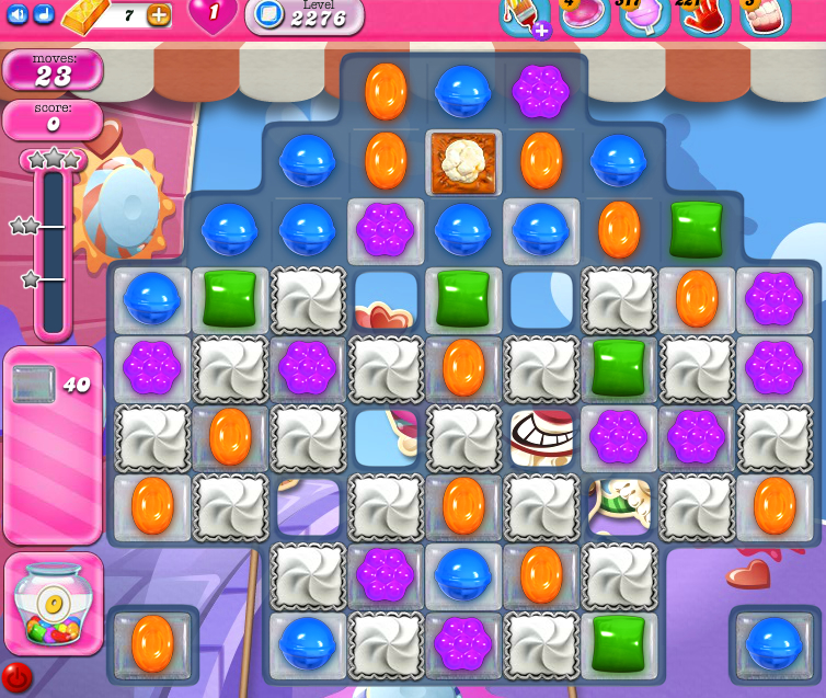 Candy Crush Saga level 2276
