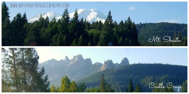 Mt. Shasta & Castle Crags    www.wayupnorthincali.blogspot.com