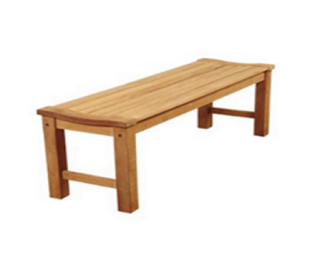 Backless Benches, Outdoor Benches, Outdoor Furniture, Teak Backless Benches, Teak Benches,