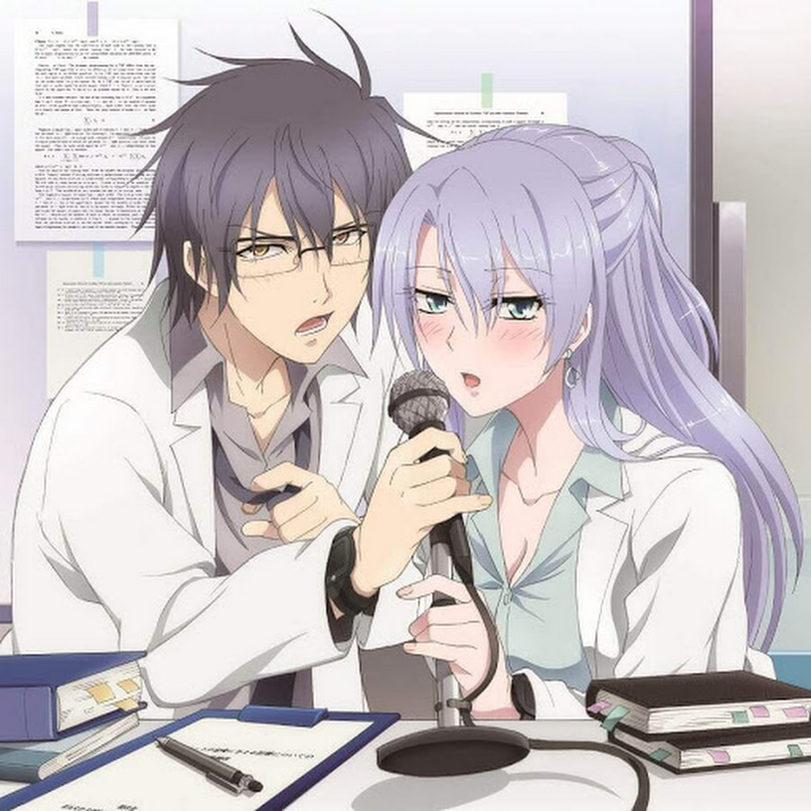▷ Descargar Rikei ga Koi ni Ochita no de Shoumei shitemita. OST - OP&ED [Extendido] [MP3-320Kbps]