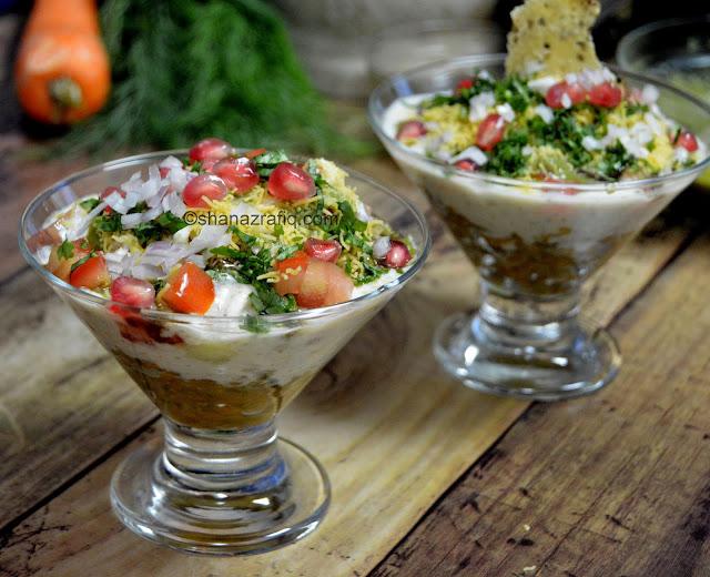 Green Gram & Yogurt Chat
