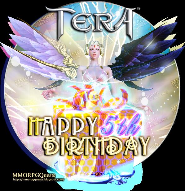 Tera Online: Happy 5th Birthday TERA!!! Game Code & More!! ~ ММÖŘРĢ