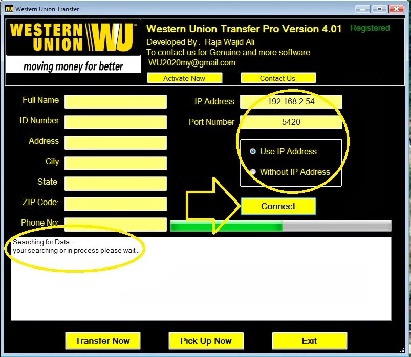 Free Western Union Money Transfer Hack