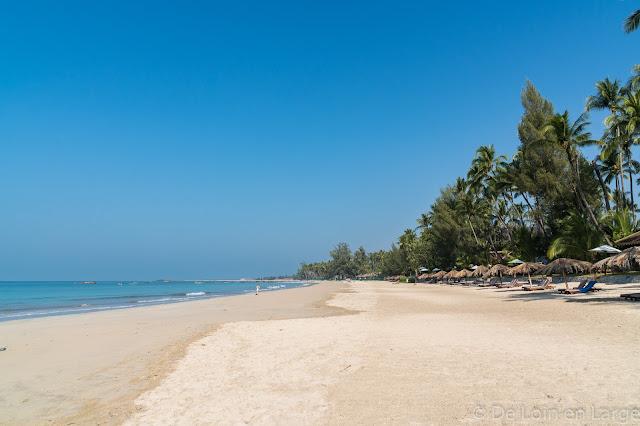 Plage Amazing resort-Nord Ngapali-Birmanie-Myanmar