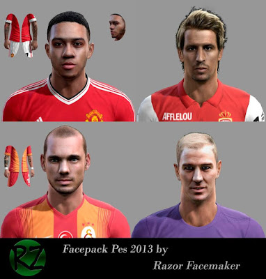 PES 2013 Facepack by Razor Facemaker