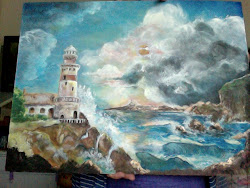 lastest painting not finished