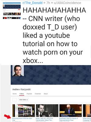 Rastreo Reddit - periodista Andrew Kaczynski