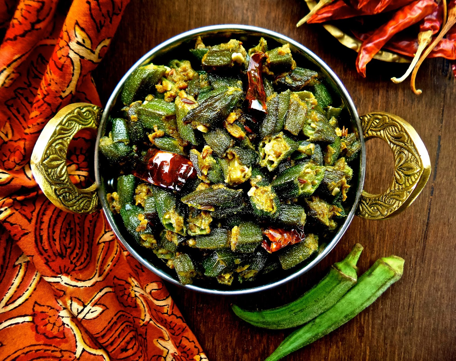 Keep calm curry on nepali style okra bhindi tareko bhindi bhindi tareko easy nepal nepali style okra no onion forumfinder Image collections