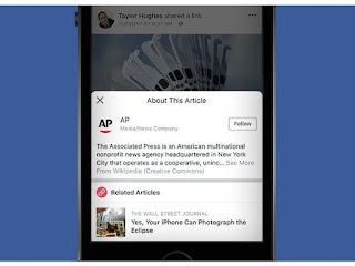 Contra fake news, Facebook expande para o Brasil botão de contexto para notícias
