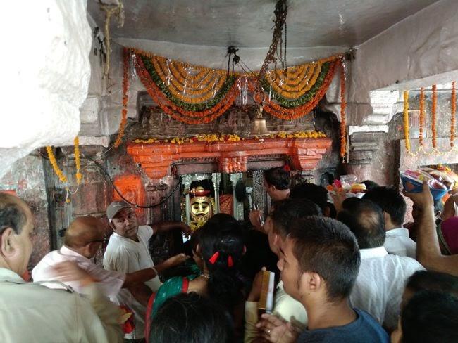 Kal Bhairav Temple Sanctum Sanctorum