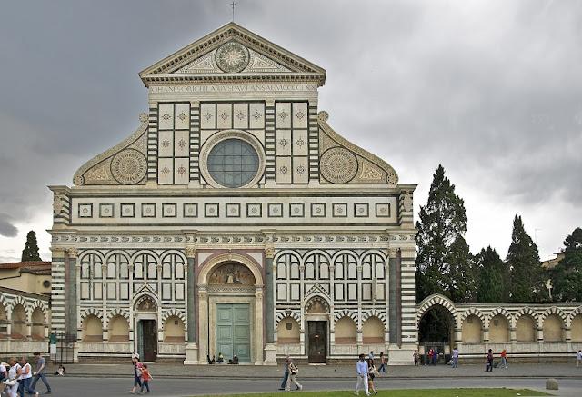 Igreja Santa Maria Novella em Florença