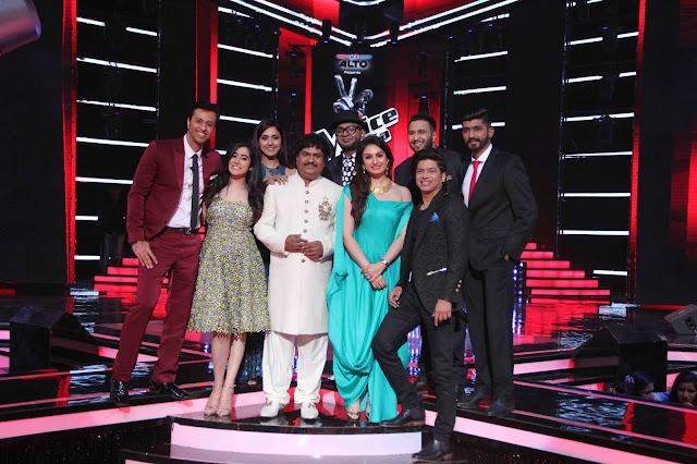The BLOCKBUSTER LIVE round kick starts on The Voice India Season 2