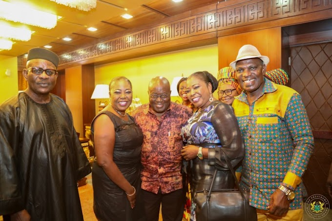 Akufo Addo pays tribute to Paapa Yankson