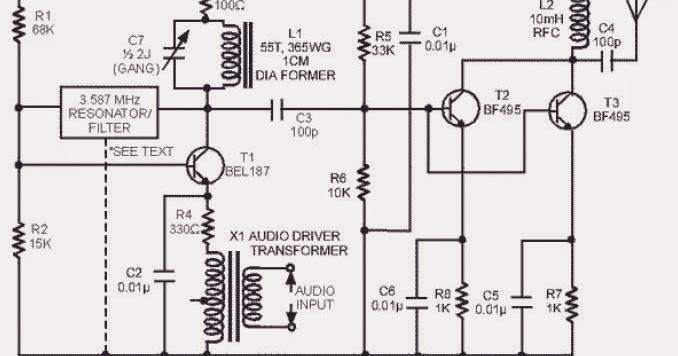 radio frequency amplifier two stages